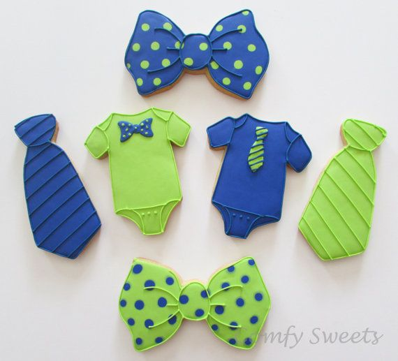 Little Man Cookies by ComfySweets on Etsy