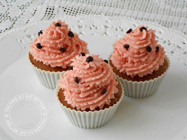Cupcakes agli amaretti