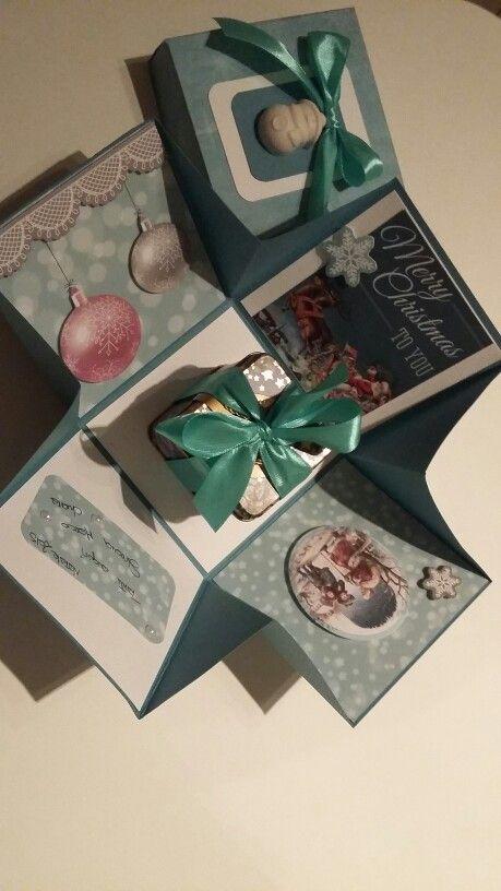 Explosion box natalizia 6