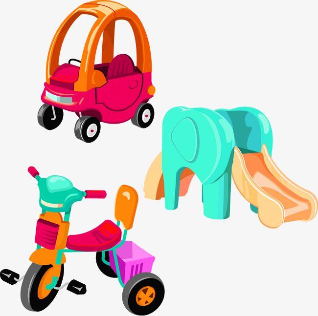Childrens Toys Vector Car Slides Toys Kids Toys Kids Vector