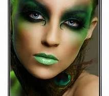 dark fairy makeup - do a version of this for Vidia