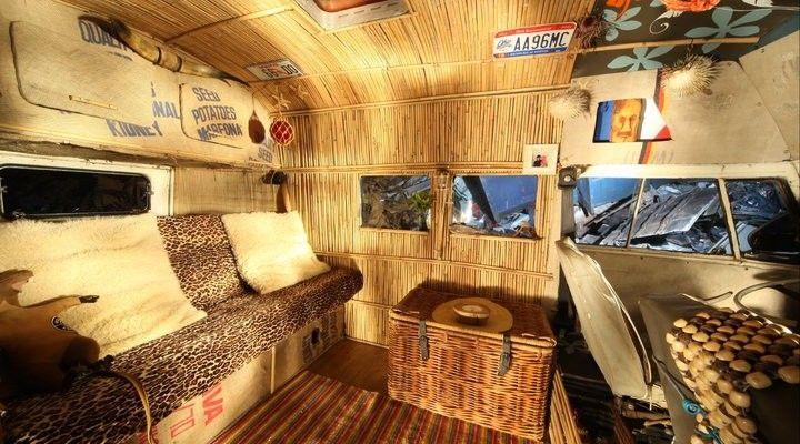 hippie van interior - Google Search | The good old ...