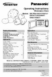 Any Idea Where I Can Find A User Manual For Panasonic Microwave