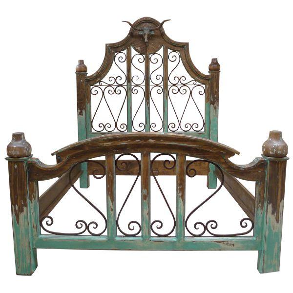 chisholm bed | Western beds | Western bedroom | Western Furniture