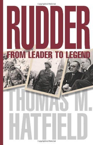 Rudder: From Leader to Legend (Centennial Series of the Association of Former Students, Texas A&M University) by Thomas M. Hatfield PhD. Save 35 Off!. $19.41. Publisher: Texas A&M University Press; General, Original TAMU Press edition edition (April 21, 2011). Series - Centennial Series of the Association of Former Students, Texas A&M University. 528 pages. Publication: April 21, 2011