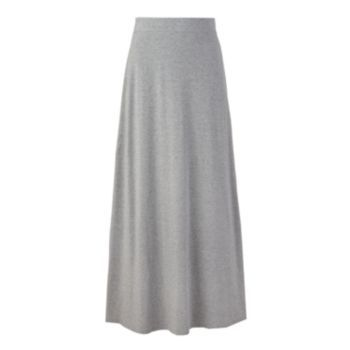 SONOMA life + style Solid Maxi Skirt pattern for brocade fabric