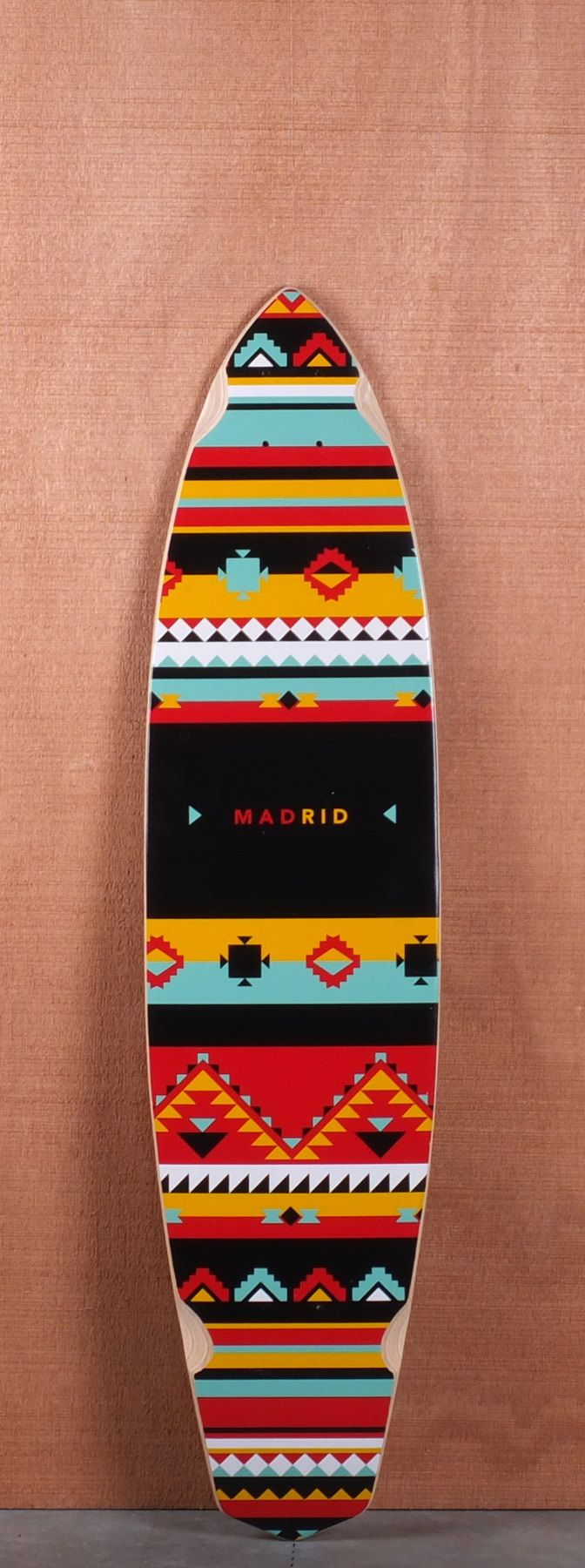 "Madrid 38.75"" Africa Longboard Deck"