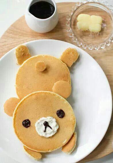 Kuma pancake :3