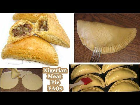 Nigerian Meat Pie Recipe | All Nigerian Food Recipes