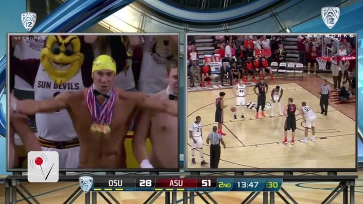 Michael Phelps distracts at college basketball game...: Michael Phelps distracts at college basketball game #MichaelPhelps… #MichaelPhelps