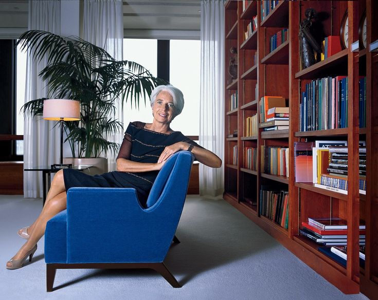 Christine Lagarde:    Changing of the Guard