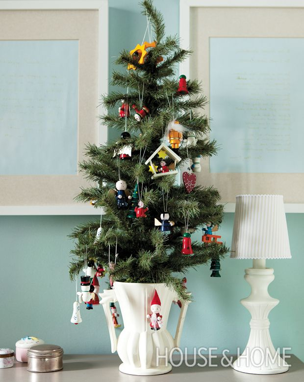 Miniature Wooden Christmas Decorations