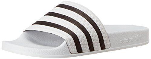 adidas Originals Adilette 280648, Unisex-Erwachsene Dusch- & Badeschuhe, Weiß (Weiß/Schwarz 1/Weiß), EU 47 1/3 - http://on-line-kaufen.de/adidas-originals/47-1-3-eu-adidas-originals-adilette-288022-herren