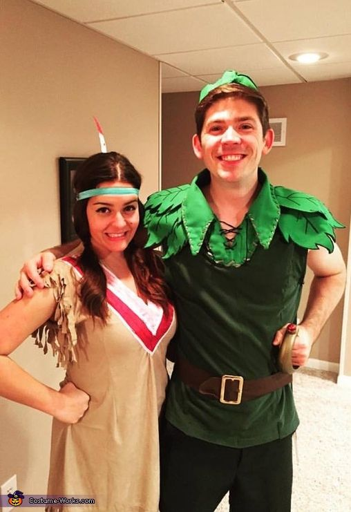 Peter Pan and Tiger Lily - 2017 Halloween Costume Contest