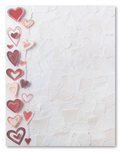 105 best Valentines Stationery images on Pinterest  Craft