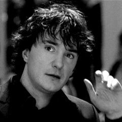 Perpetually mussy hair but incredibly funny Dylan Moran