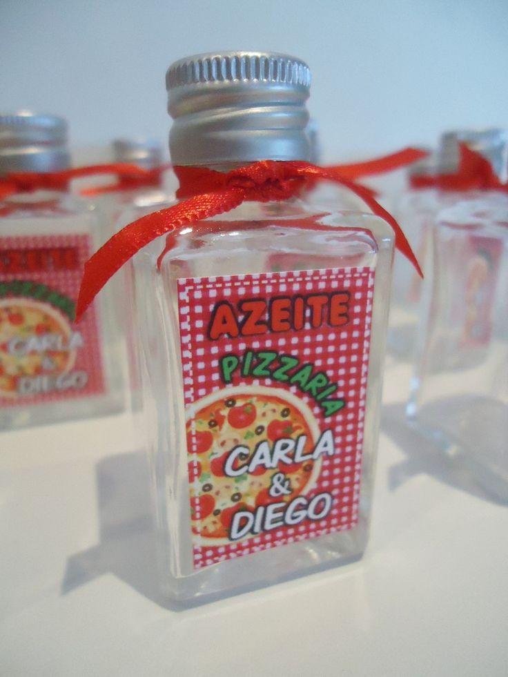 » VIDRINHO para azeite Pizzaria. www.lonasdesign.com