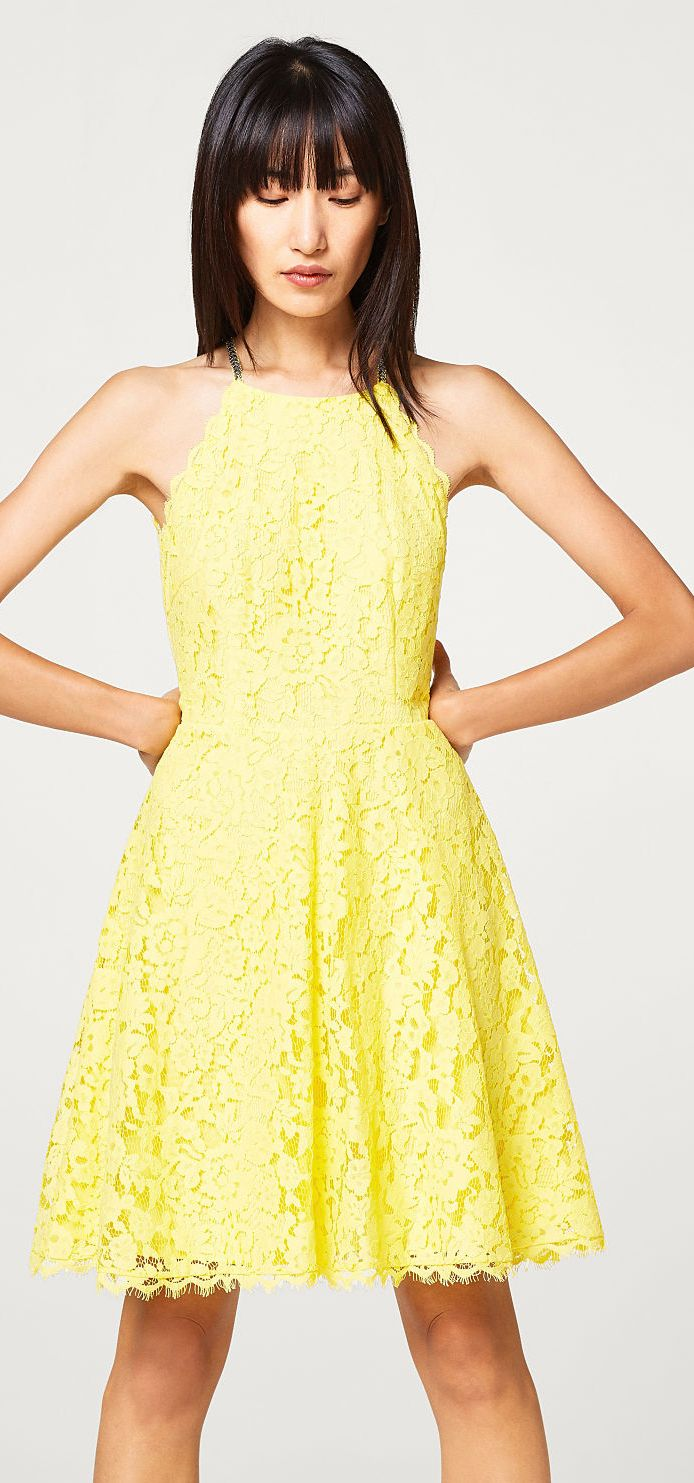 esprit #yellow #dress  Esprit Dresses & Skirts in 10  Bekleidung