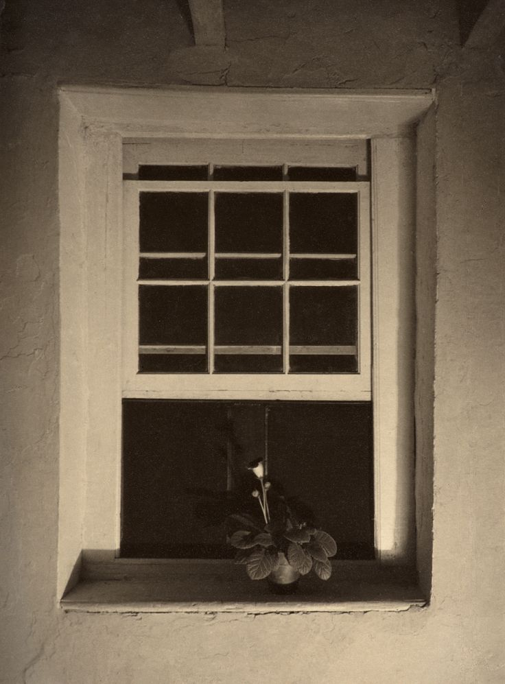 Charles Sheeler (1883-1965) - Doylestown House - Open Window, c.1917