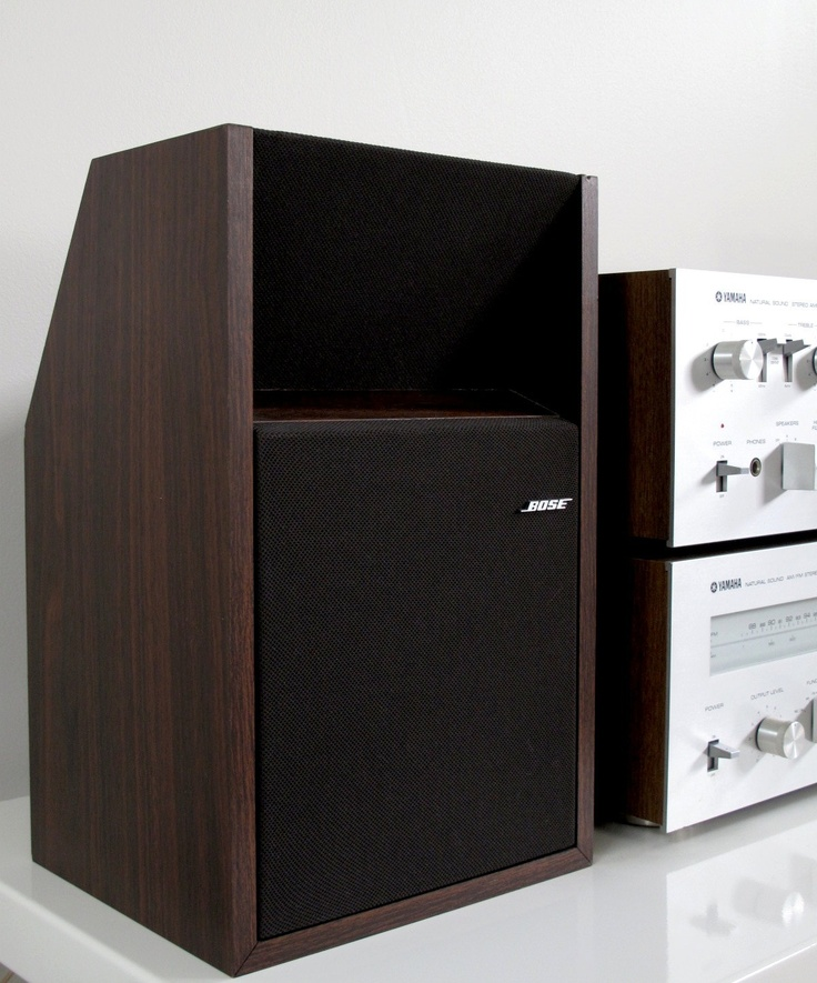 bose 201 series ii direct reflecting bookshelf stereo speakers faux rosewood finish power. Black Bedroom Furniture Sets. Home Design Ideas