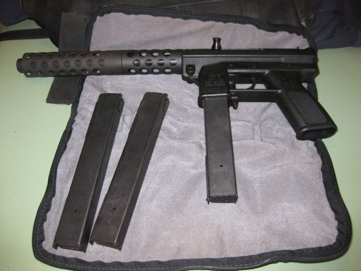 Intratec Intratech Tech 9 9mm With Carrying Case For Sale