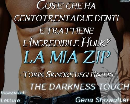 The Darkness Touch - Gena Showalter Official Fan Page
