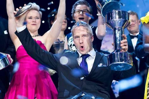 Leo-Pekka Tähti, athlete of the year, the sport gala, Finland, January 2017