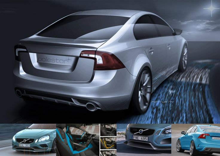 VOLVO S60 POLESTAR / By PONTUS NY. Development, design strategy and modification for upgrade and tuning of the Volvo S60 Polestar series. 2012. Sweden.