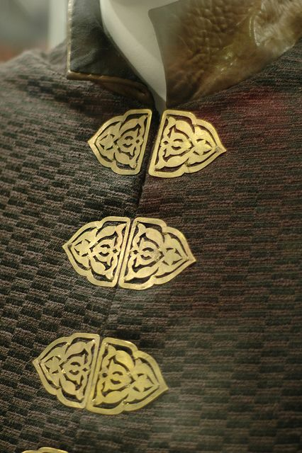 Detail from one of the Game of Thrones costumes.