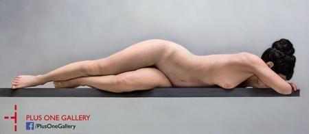 Balance II, Acrylic and enamel on panel,    70 x 160 cm