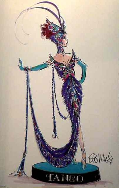 Bob Mackie The Tango Barbie Illustration