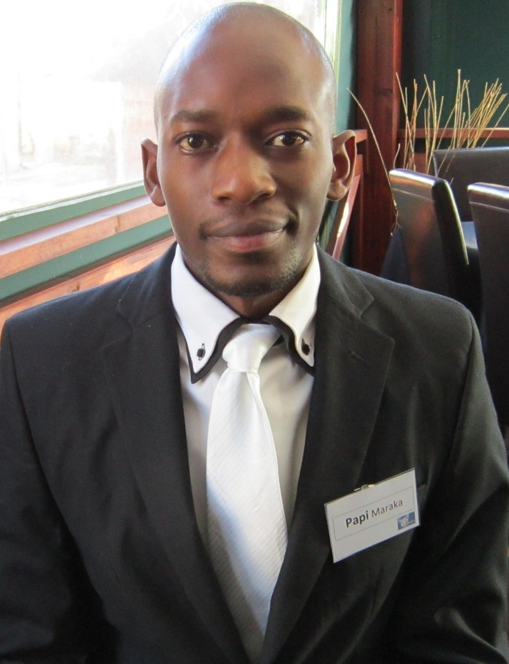 Tladi (Papi) Maraka (25) – National Diploma in Information Technology Programming (DITP) from Varsity College. Papi is a very capable individual  with a real passion for IT.  He is well spoken and his creative side means that he often finds different ways of doing things more effectively.  Papi is determined and ambitious.  One of Papi's key strengths is his ability to learn quickly and think quickly on his feet.  Papi is a mature individual who has a lot to offer to an organisation.