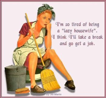 Tired: 50S Housewife, At Home, Diy Crafts, Quotes, Dramas, Lazy Housewife, Funny Stuff, Take A Break, Vintage Housewife Humor