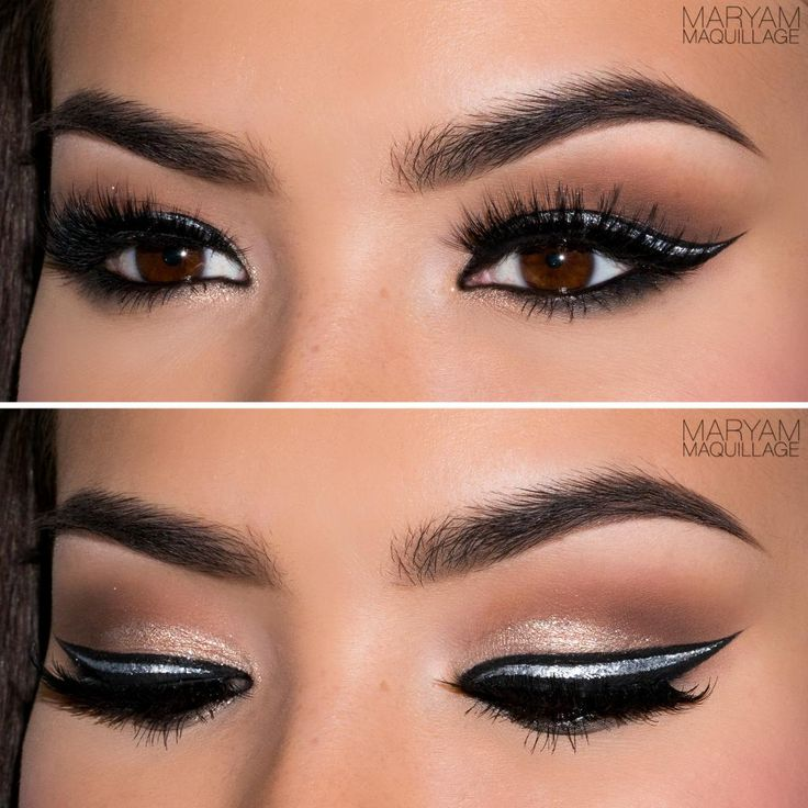 Maryam Maquillage: Festive Makeup: Graphic Eyes, Bold Lips