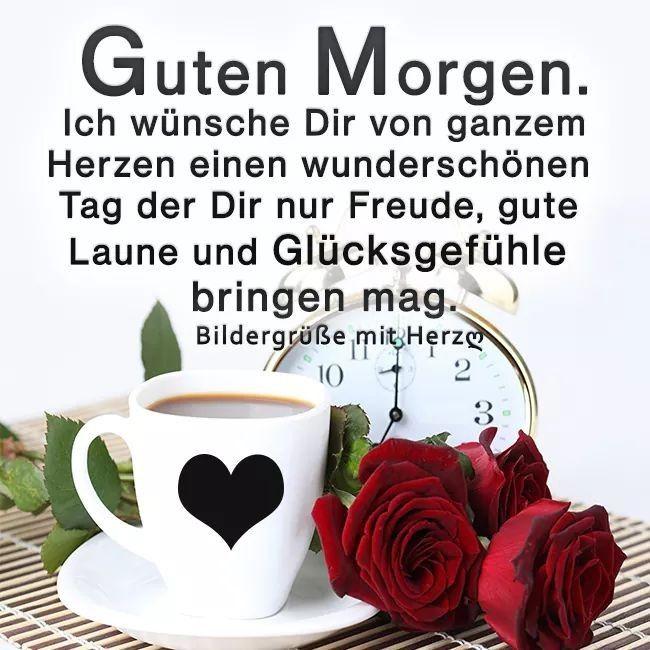 Ein Schöner Morgen Guten Morgen Good Morning Und Night