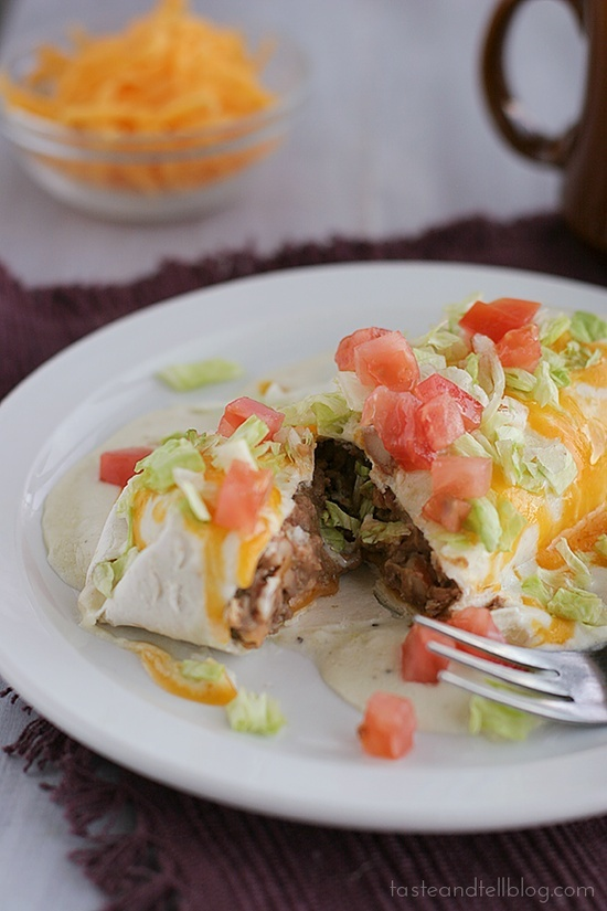 beef and bean burritos recept yummly beef and bean burritos the ...