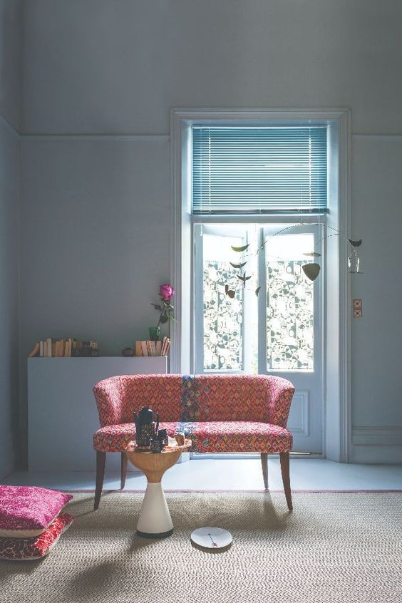 Loving Farrow Ball S Parma Gray Paint Colour With The Pops Of Pink
