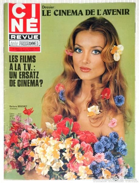 15 best images about barbara bouchet magazine covers on. Black Bedroom Furniture Sets. Home Design Ideas