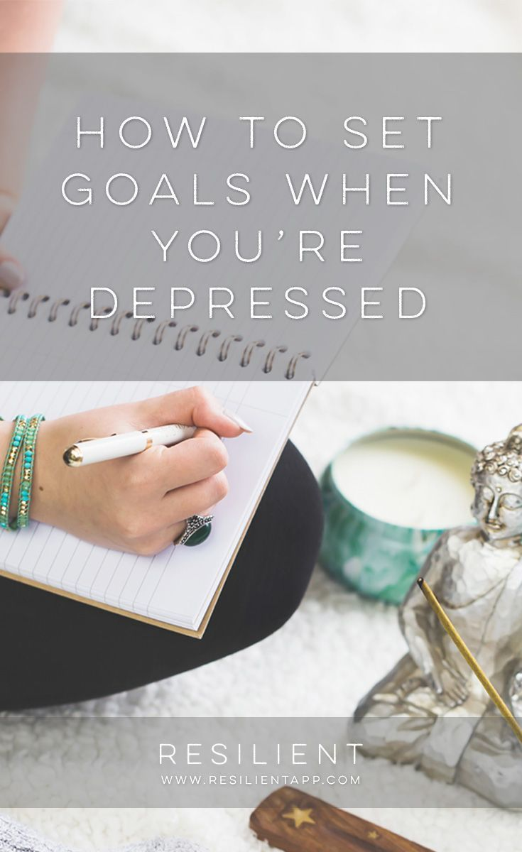 Setting goals when you're depressed can sometimes feel overwhelming and discouraging. Instead, here are my tips for a better way to…