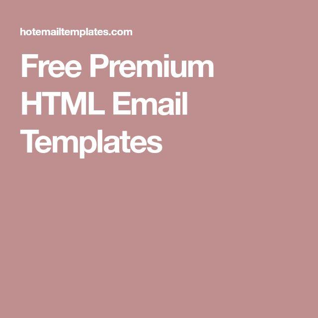 25+ unique Free email templates ideas on Pinterest Free email - professional email template