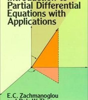 Introduction To Partial Differential Equations With Applications PDF