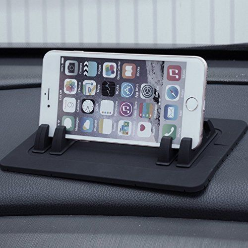 EReach Car Mount Holder, Silicone Pad Non-slip Dash Mat Car Mount Holder Car Phone Holder Cradle Dock for Samsung S7/S6/S5/iPhone 7 Plus/7/6S(plus)/6/5S/4S /iPad or GPS Holder - http://www.caraccessoriesonlinemarket.com/ereach-car-mount-holder-silicone-pad-non-slip-dash-mat-car-mount-holder-car-phone-holder-cradle-dock-for-samsung-s7s6s5iphone-7-plus76splus65s4s-ipad-or-gps-holder/  #Cradle, #Dash, #Dock, #EReach, #Holder, #Ipad, #Mount, #Nonslip, #Phone, #Plus76Splus65S4S,