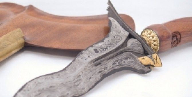 Indonesian traditional weapon : Javanese keris