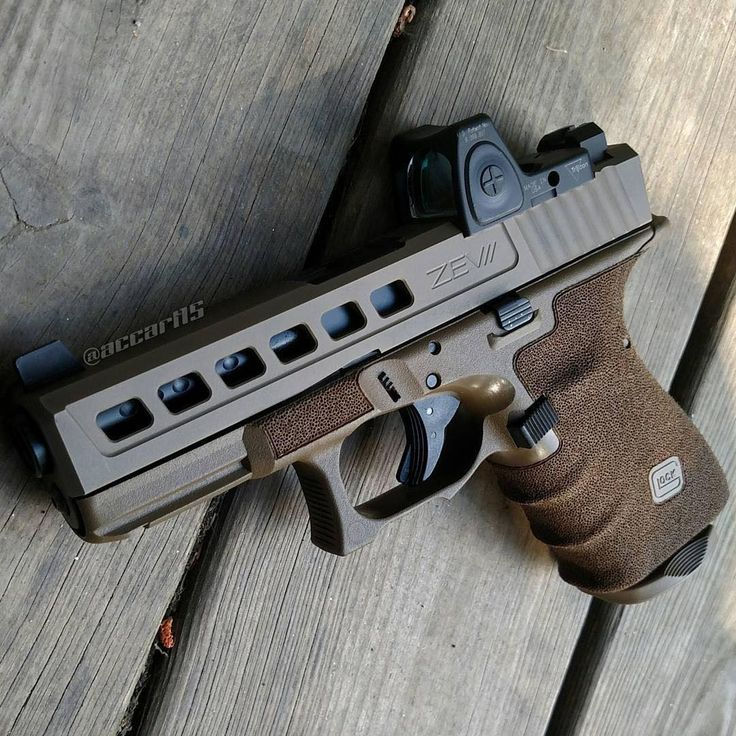 @accart15 Glock 19 gen 4 with integrated backstrap. #tacticalartisan…