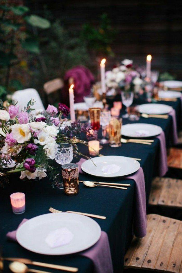 Les 25 meilleures id es concernant nappe noire de mariage for Cuillere pour decorer les assiettes