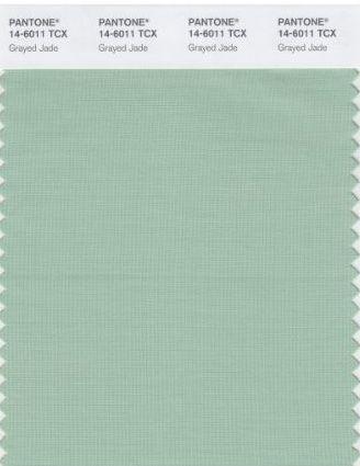 Colors of Spring 2013 Grayed Jade #spadelic #pantone