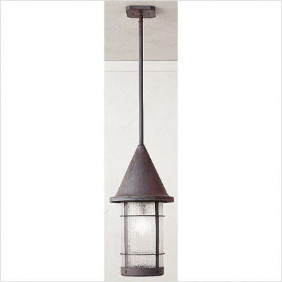 """Arroyo Craftsman VSH Valencia Outdoor Hanging Lantern by Arroyo Craftsman. $366.34. Arroyo Craftsman VSH Features: -Valencia collection. -Available in several finishes. -Available in several glass shades. -UL listed. -Suitable in wet location. Specifications: -Accommodates: 1 x 60W / 100W medium incandescent bulb. -Mounting base: 5"""" W x 5"""" D. -Available sizes:. -22.75"""" Overall dimensions: 22.75"""" H x 11.25"""" W. -Extension: 46"""". -Stem: 0.75"""". -18.75"""" Overall dimensions: 18..."""