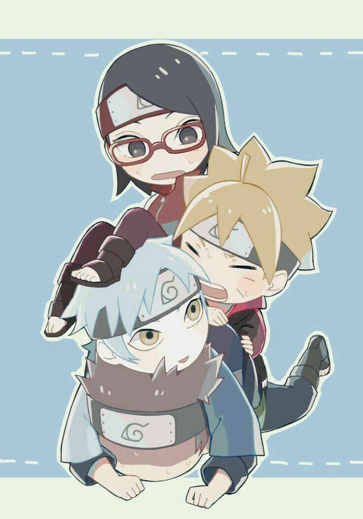 Team 7 Ke Masa Lalu Hiatus Di 2021 Gambar Karakter Kartun Anime Naruto
