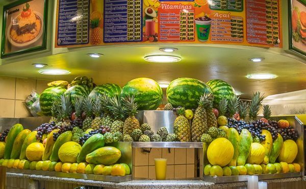 You have not been to Rio until you have tasted some fresh juice you never tried before. Rio is Juice Heaven.
