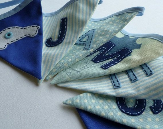 Boy's+personalised+bunting/banner++SIMPLY+by+LettersAndLovehearts,+£20.00